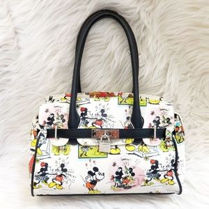 Disney Minnie and Mickey Mouse Comic Strip Purse